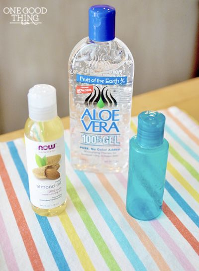 Natural eye serum! Super moisturizing without the heaviness/greasiness!