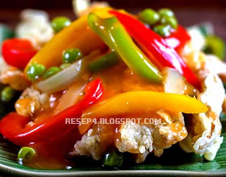 Resep Ayam Goreng Asam Manis - http://resep4.blogspot.com/2013/06/resep-ayam-goreng-asam-manis.html resep masakan indonesia
