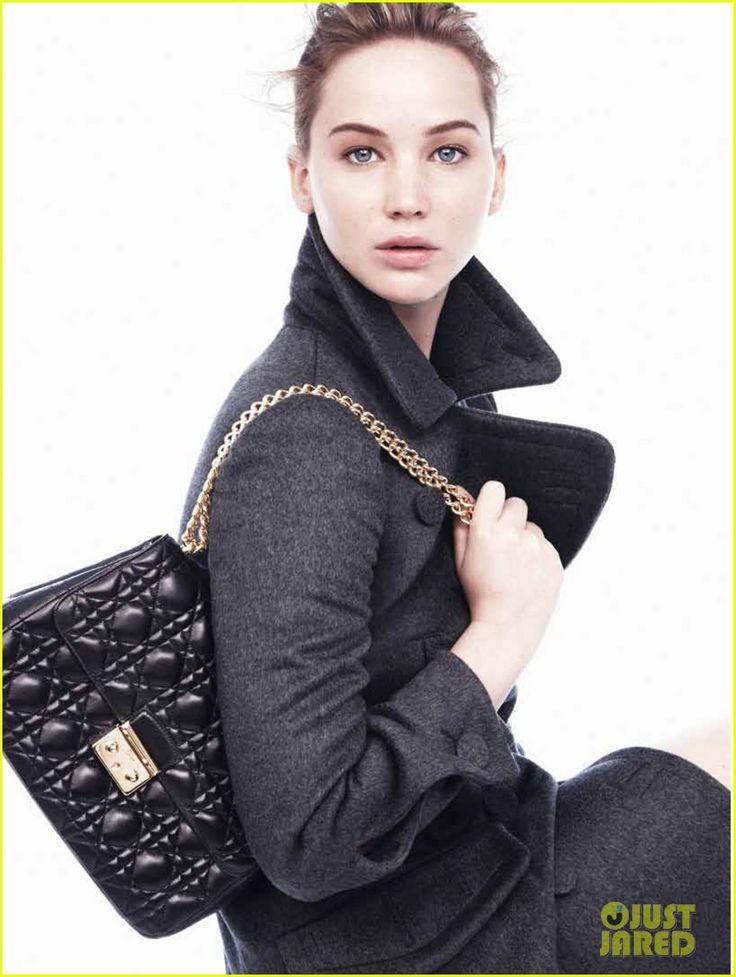 Jennifer Lawrence: Miss Dior Autumn/Winter 2013 Images!   jennifer lawrence miss diors autumn winter campaign 04 - Photo