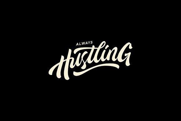 Always Hustling Update Graphic Design Typography Graphic Design Inspiration Lettering Fonts