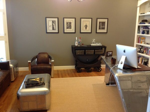 1940s Inspired Aviation Home Office