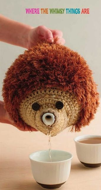 Patrón #1263: Hedgedog Teapot Cosy a Crochet | CTejidas [Crochet y Dos Agujas]