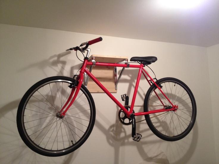 Wall Mount Bike Storage Bike Storage Wall Mount And Vinyls