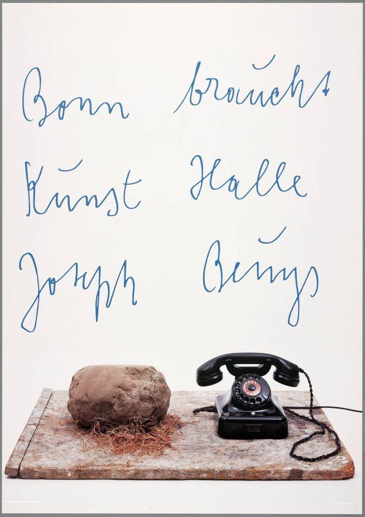 Joseph Beuys, 'Joseph Beuys. Bonn braucht Kunst Halle, date not known