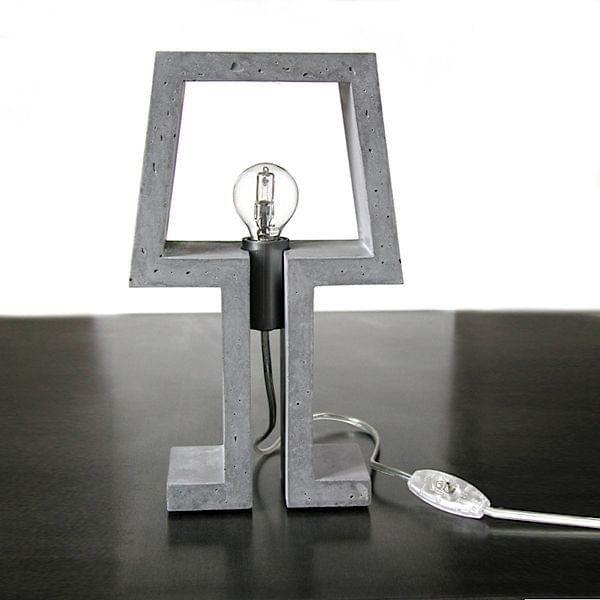 PICTO - lampe à poser en béton haute performance - déco et design