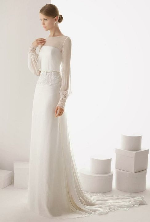 1000 images about wedding dress on pinterest luisa for Casual winter wedding dresses with sleeves