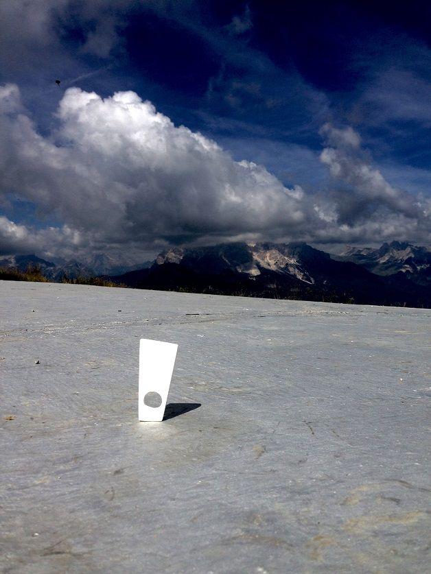 """L'anello """"Memento"""" si ispira alle Dolomiti"""