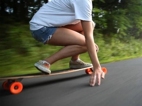 Someday I'll finally learn how to longboard and be able to do it without falling off every 10 seconds...