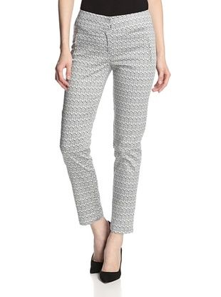 58% OFF Greylin Women's Regan Flame Stitch Pants (Black/White)