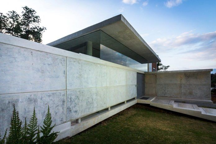 Guaparo House by NMD Nomadas, a contemporary concrete and glass residence - CAANdesign | Architecture and home design blog