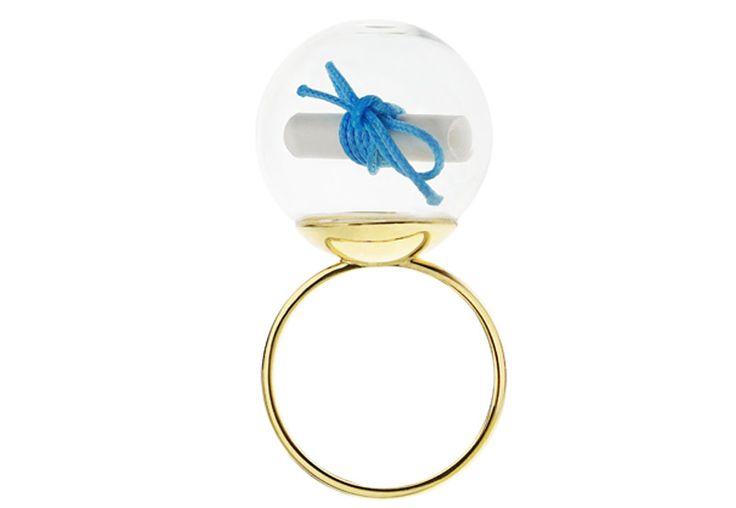 Minty dot pierścionek My Wish - spełnij swoje marzenie!
