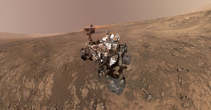 Space Photos of the Week: The Curiosity Rover Snaps a Selfie on Mars - #Photography