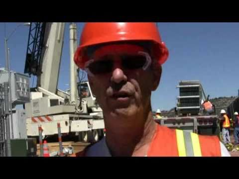 Electric Transformer Installed at Substation in Colorado Springs