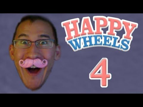 Markiplier Happy Wheels Highlights #4. I highly recommend this guy! He is beyond hilarious, go like and subscribe! :)