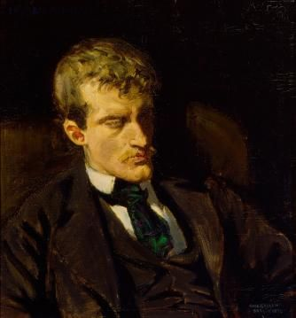 Edvard Munch by Akseli Gallen-Kallela
