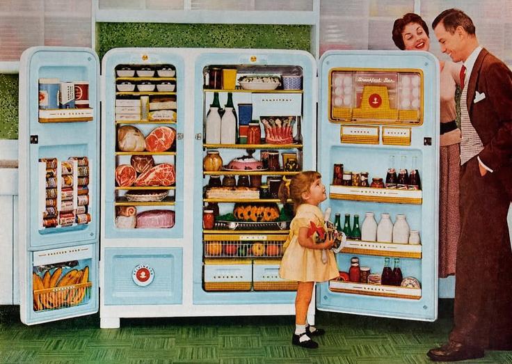 """...o """"sonho"""" de um frigorífico super organizado :)"""