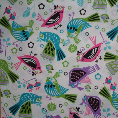 MS Going On Thirty Birds 1/2 METRE