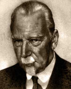 """Heinrich Wölfflin (1864 – 1945) was a famous Swiss art critic, whose objective classifying principles (""""painterly"""" vs. """"linear"""" and the like) were influential in the development of formal analysis in the history of art during the 20th century. He taught at Basel, Berlin and Munich in the generation that raised German art history to pre-eminence. His three great books, still consulted, are Renaissance und Barock (1888), Die Klassische Kunst (1898), and Kunstgeschichtliche Grundbegriffe…"""
