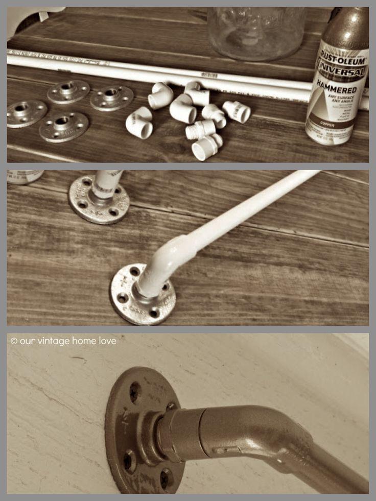 Best 25+ Industrial curtain rod ideas on Pinterest | Pipe ...