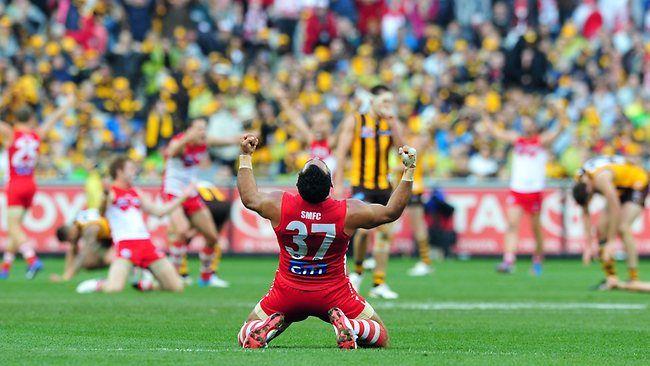 Goodesy final siren 2012 AFL Grand Final