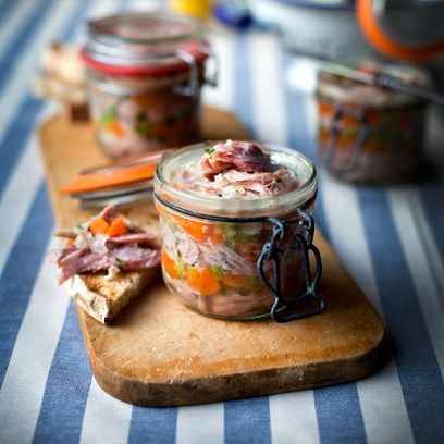 51 best christmas starter recipes images on pinterest best recipes for an affordable starter give this ham hock terrine a try best christmas starter forumfinder Choice Image