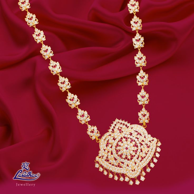Gift this newly digitized getti collection to your special ones! Get through - www.lalithaajewellery.com to get more designs.