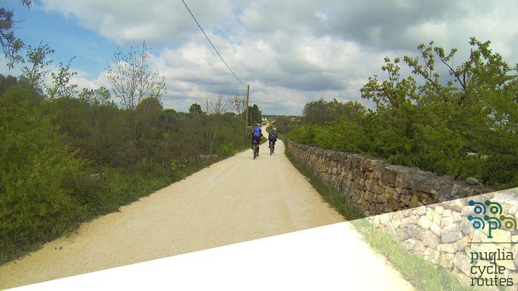 Percorso ciclabile sulle vie dell'aquedotto Martina Franca - Cisternino - Ceglie Messapica- Ostuni