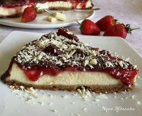 New York cheesecake fragole e cioccolato