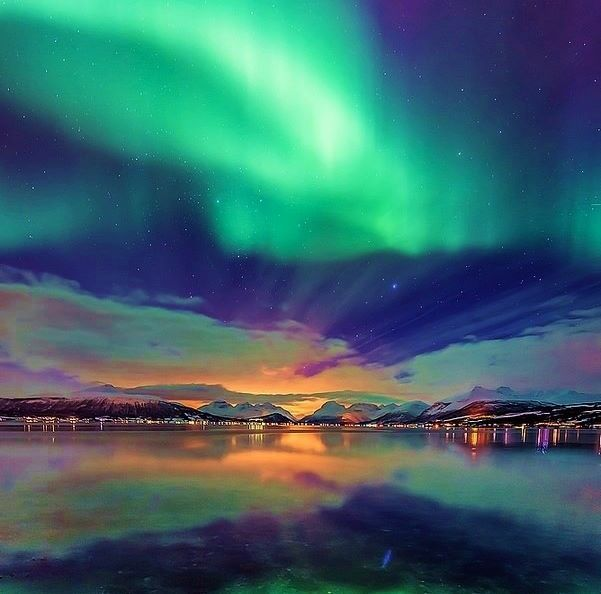 Northern Lights in Tromso, Norway.I want to visit here one day.Please check out my website thanks. www.photopix.co.nz