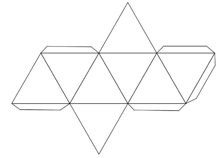 Ensino de Matemática : Planificação de Poliedros