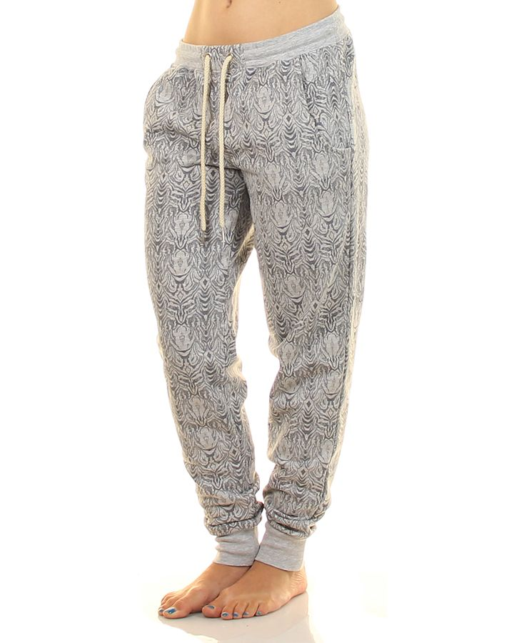 Inseption - Hurley - Womens - Wildest Cuffed Track Pant - Grey