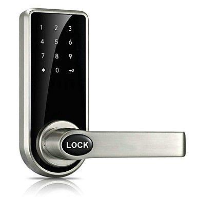 Dørlås passord nøkkel kredittkort opplåsing zink legering elektronisk kode lås os8818 for hotell hjemmekontor villa 6104259 2017 – kr.523