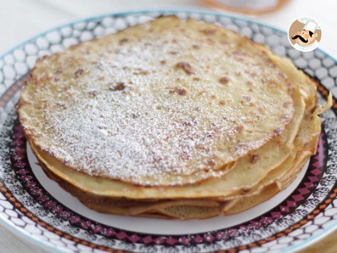 Crepes sin gluten y sin lactosa