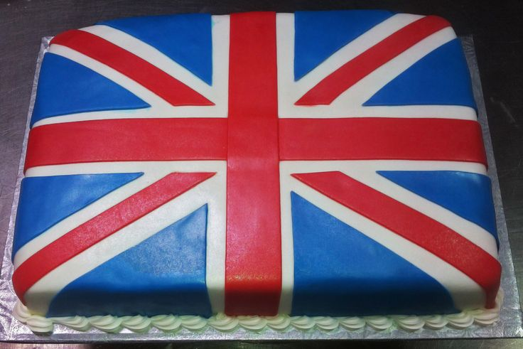 Union Jack cake