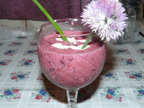 Healthy fruity Ice cream alternative