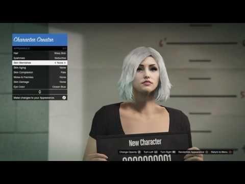 character creation gta 5 ps4