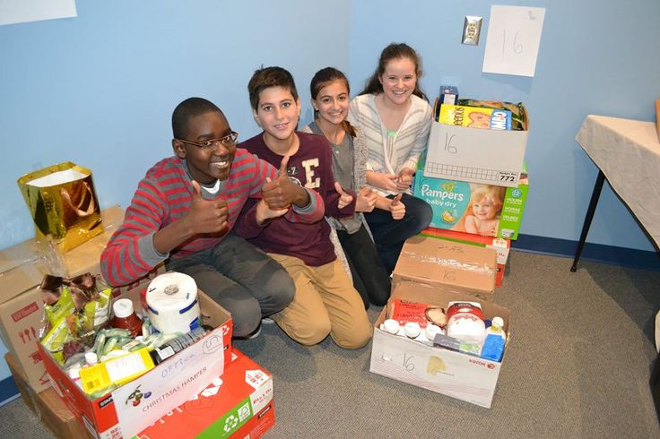 Christmas Hampers for families in need