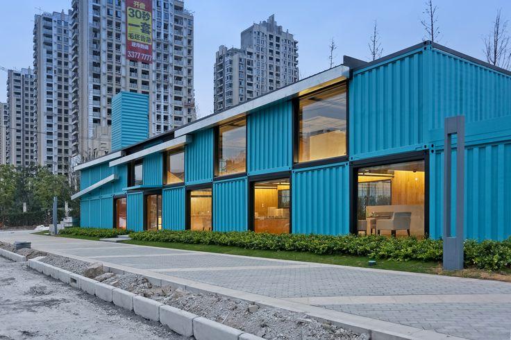 Oficina de ventas contenedor,© Su shengliang