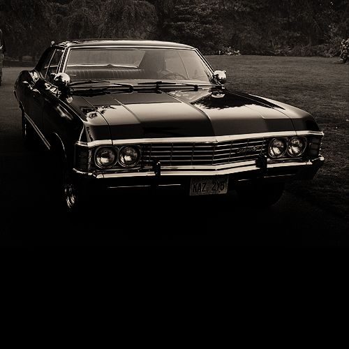 Dean Winchester's car...I would get my license if I could get this beauty
