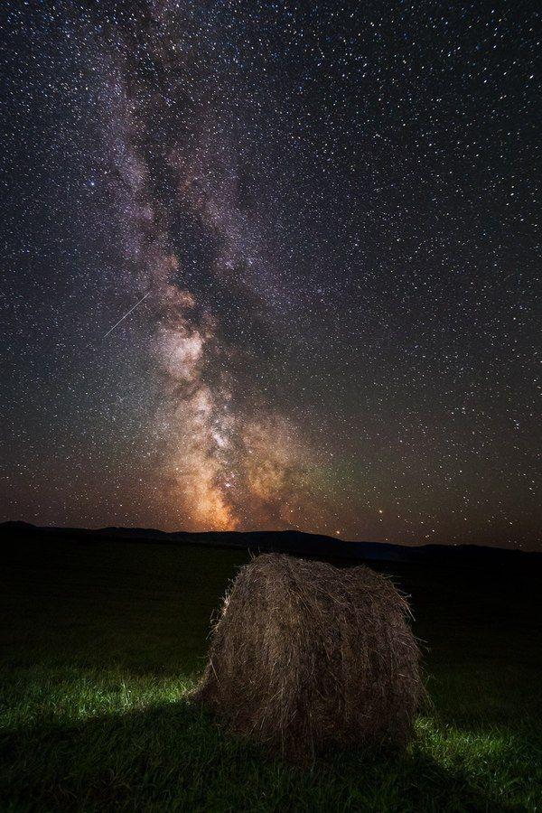 Млечный путь над Белокурихой белокуриха, Россия, Фото, ночная фотография…