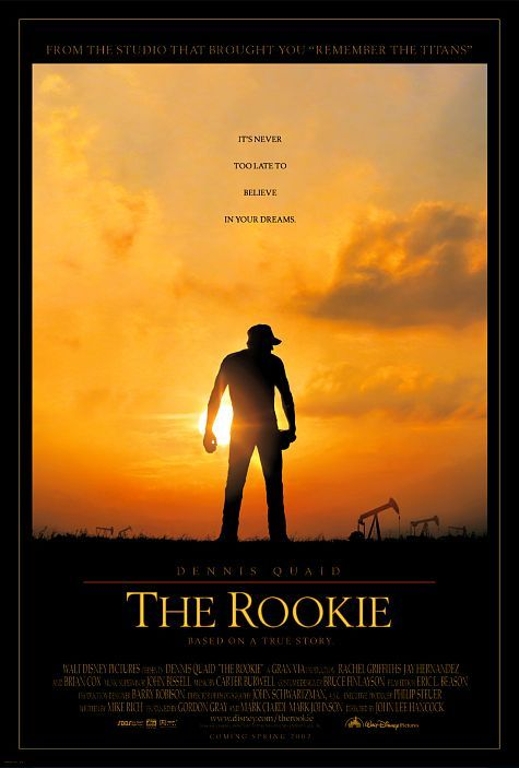 Directed by John Lee Hancock.  With Dennis Quaid, J.D. Evermore, Rachel Griffiths, Jay Hernandez. A Texas baseball coach makes the major league after agreeing to try out if his high school team made the playoffs.