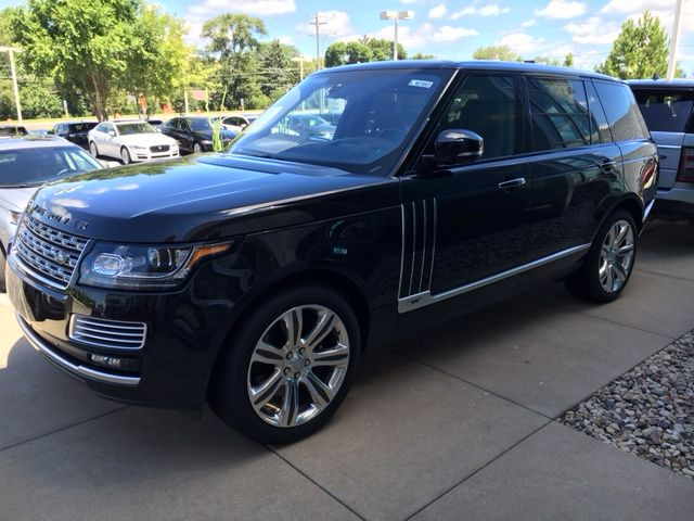 Take a look at this stunning Limited Production (only 1 of 125) 550 HP Supercharged V8 2016 Range Rover SV Autobiography. Call Land Rover Waukesha for details at (262) 970-5900, or visit our website at http://www.landroverwaukesha.com/