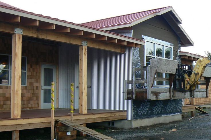 Metal Siding For Houses Building The Corrugated
