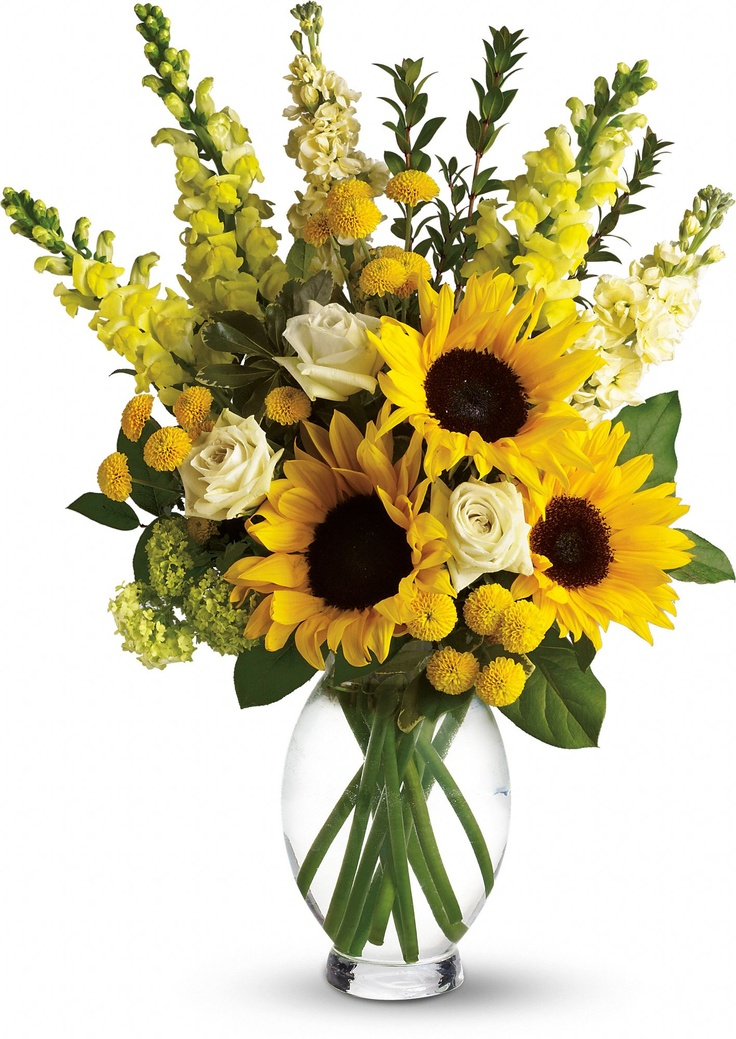Here Comes The Sun bouquet by Teleflora Teleflora