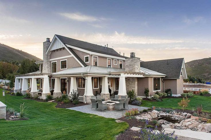 Best 25 ranch home decor ideas on pinterest for Cost to build craftsman home