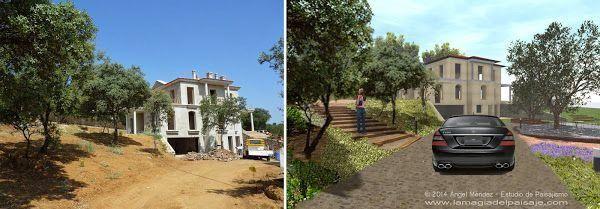 Imagen virtual para la creación de jardines de increible belleza