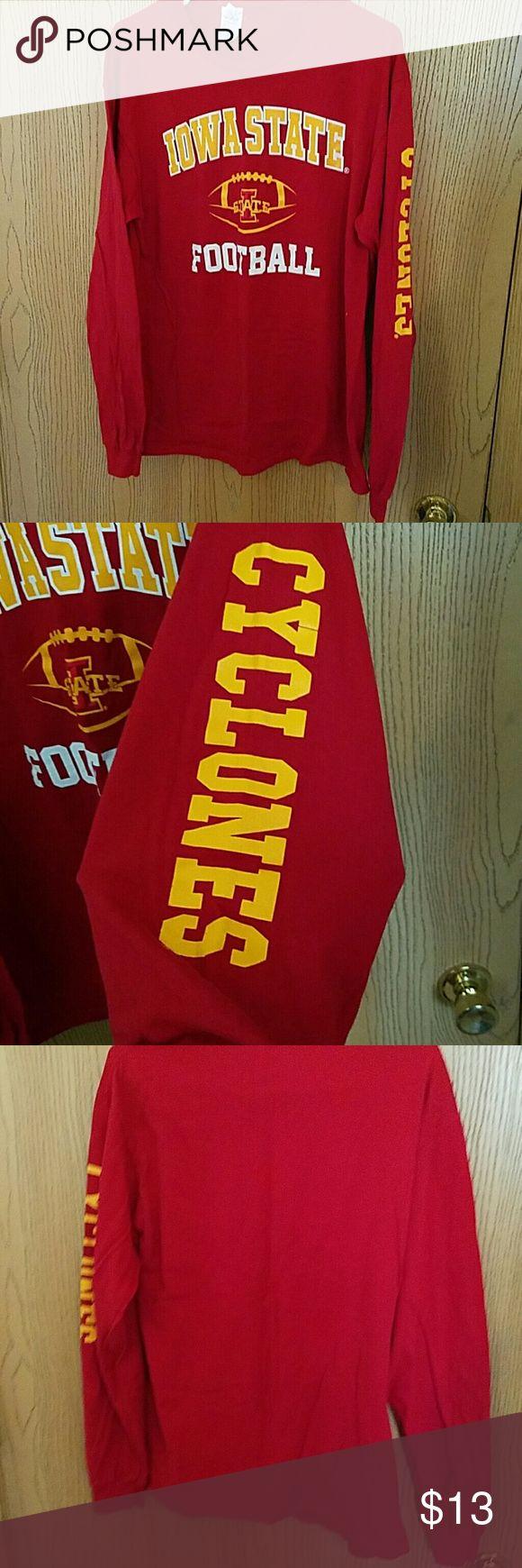 ISU tee Long sleeved ISU Football tee. Shirts Tees - Long Sleeve