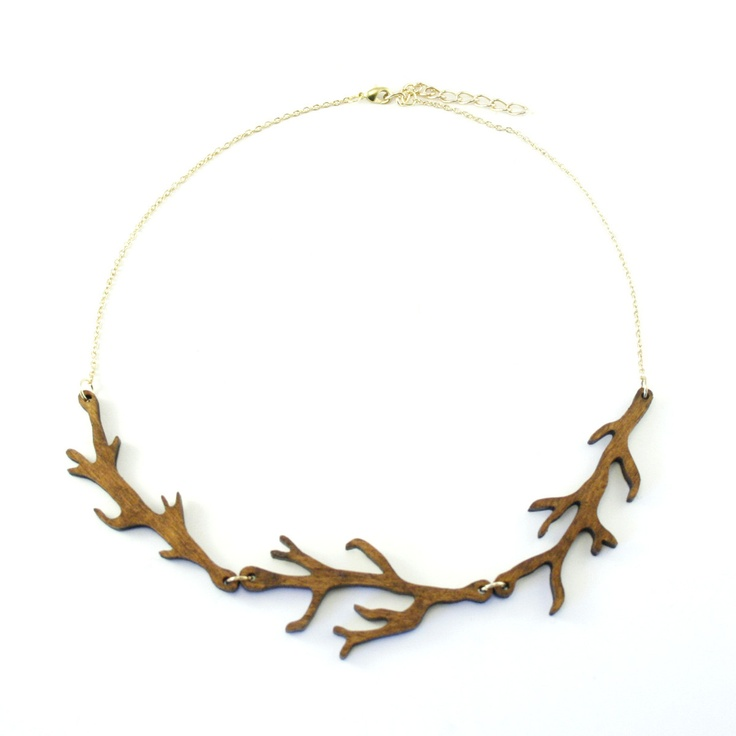 Fab.com | Twig Necklace Wood