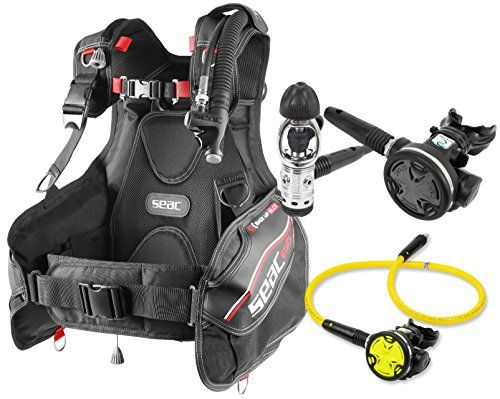 Seac Ego BCD Scuba Gear BC Regulator Package Yoke, Medium -- Find out more about the great product at the image link.
