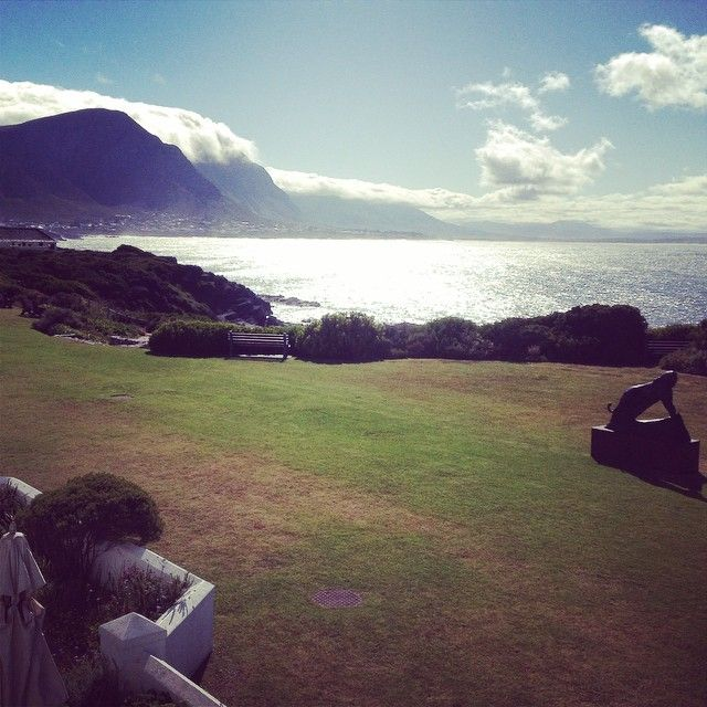 View from our room at #TheMarineHotel in #Hermanus #SouthAfrica